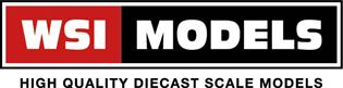logo WSI-models schaalmodel vrachtauto