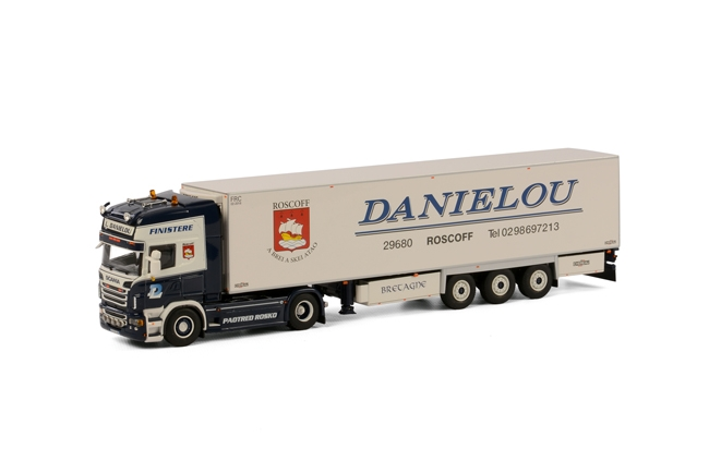 WSI Model Daniélou Scania R Topline Koel Oplegger Thermoking (3 as)