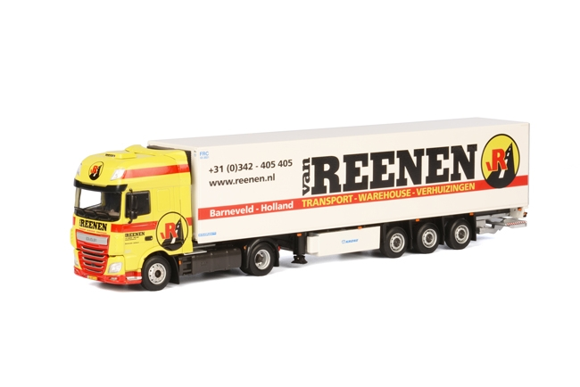 Van Reenen DAF XF SSC Koel Oplegger Carrier 3 as