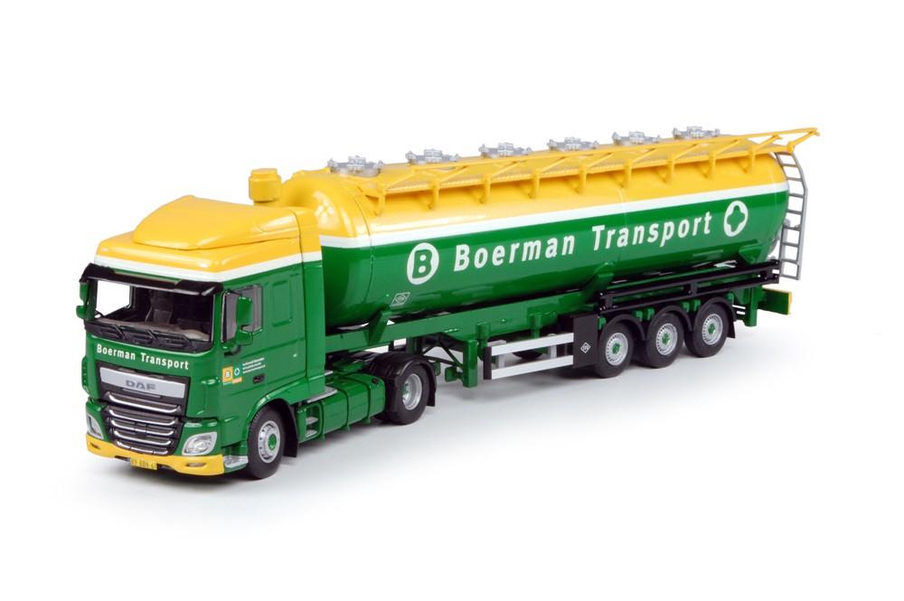 WSI Model Boerman Transport DAF Euro 6 XF Space Cab
