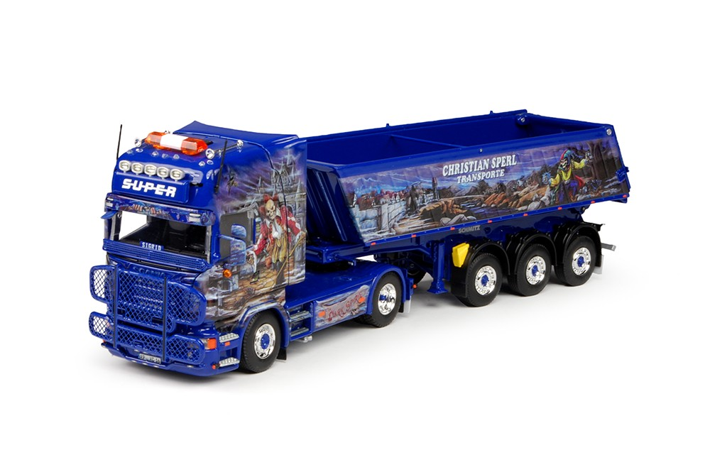 WSI Model Christian Sperl Scania R-Serie Topline