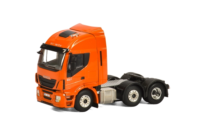 Iveco Stralis Highway 6x2 van WSI Models