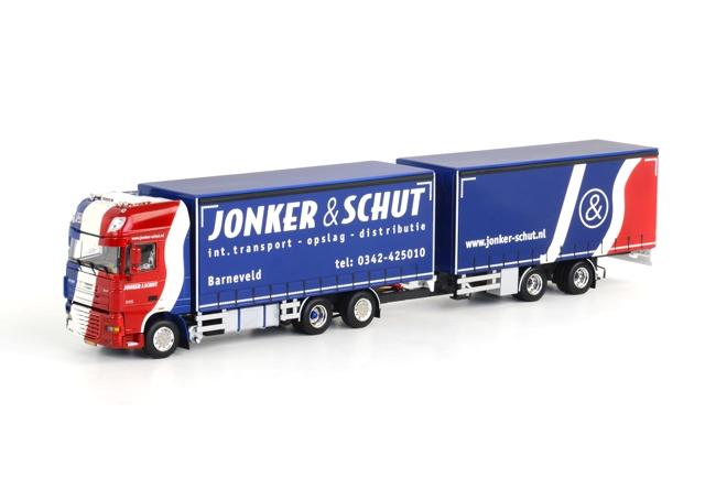Jonker & Schut DAF XF SC Combi, van WSI Models.