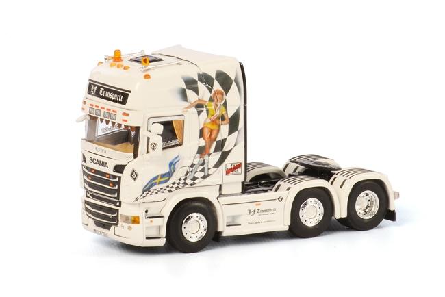 LF Transporte Scania R Topline, van WSI Model