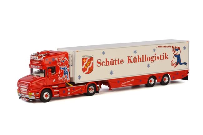 Schütte Kühllogistik Scania T Topline