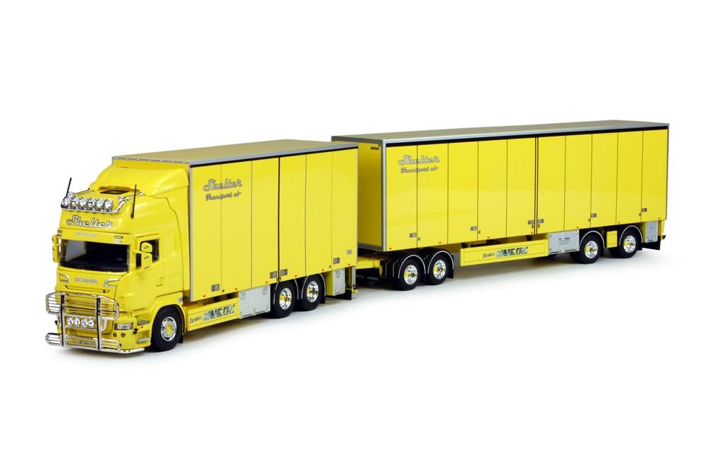 WSI Model Shelter Scania nieuwe R-Serie Topline