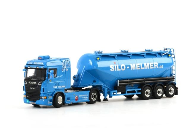WSI Model Silo Melmer SCANIA R Highline Onderlosser, van WSI Models.