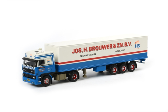 wsi model Jos H Brouwer DAF 2800 Space Cab