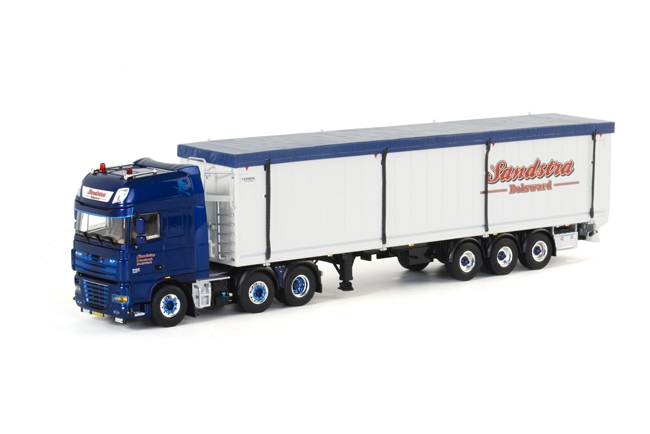 wsi model Sandstra Bolsward Daf XF 105 Super Space Cab