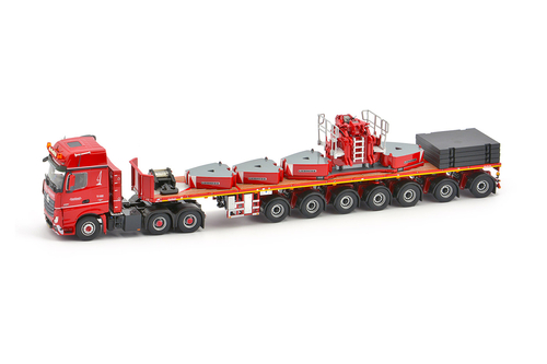 imc models Nooteboom Red line Actros2 Gigaspace 6x4
