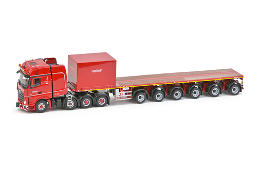 imc models Nooteboom Red Line mb Actros2 Gigaspace 8x4