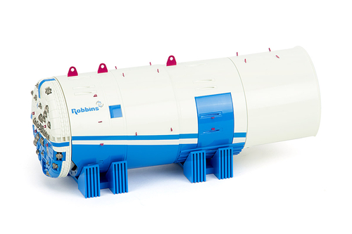 imc models Robbins Tunnel boring machine (TBM)
