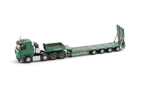 imc models Schindler Scania R143 8x4 -4ax Gold semi