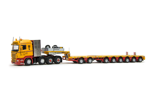 imc models Wiesbauer Scania R High 8x4