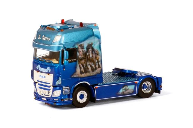 DAF K. Apers WSI model vrachtwagen