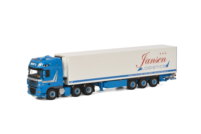 WSI Jansen Transport DAF XF 105 Super Space Cab