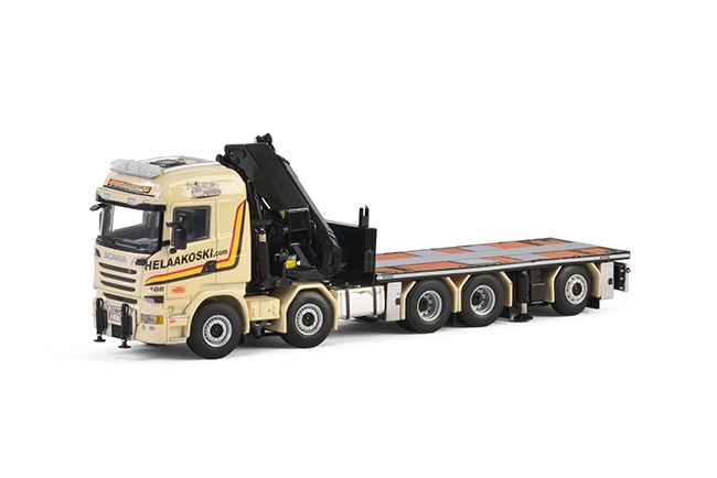 E. Helaakoski Oy Scania R Streamline Highline , Van WSI Models