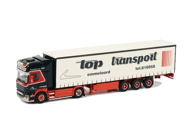 Top Transport SCANIA R Topline , Van WSI Models