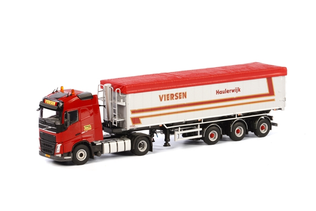 Viersen Transport Volvo FH4 Globetrotter , Van WSI Models