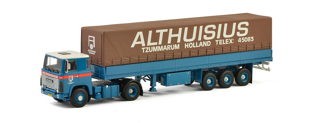 Dijkhuis-Truckshop, miniatuur vrachtwagen, scale model truck