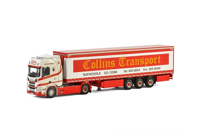 Collins Transport Scania S Highline CR20H , Van WSI Models