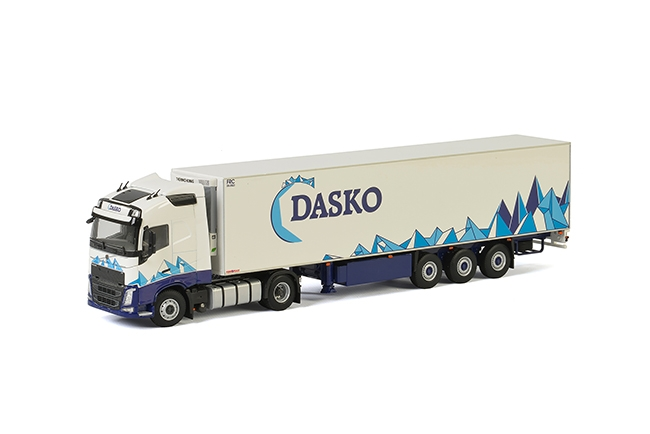 Dasko Volvo FH4 Globetrotter , Van WSI Models