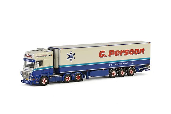 G. Persoon Scania R Streamline Topline , Van WSI Models