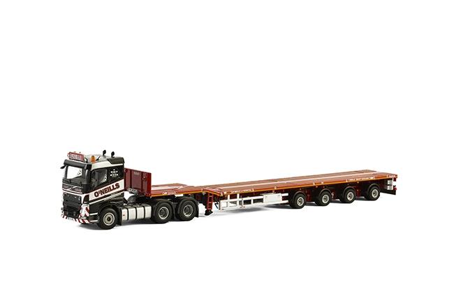 O'Neills Heavy Haulage Volvo FH4 Sleeper Cab , Van WSI Models, model truck