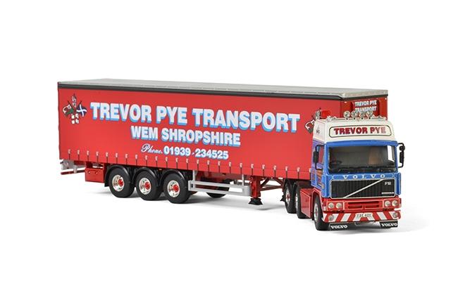 Trevor Pye Transport Volvo F12 , Van WSI Models