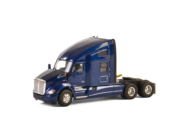 USA Basic Line KENWORTH T680 6x4 DARK BLUE , Van WSI Models