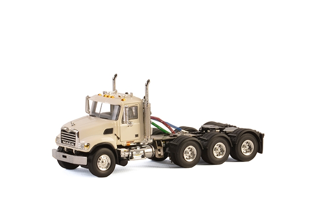 USA Basic Line MACK GRANITE 8x4 WHITE , Van WSI Models