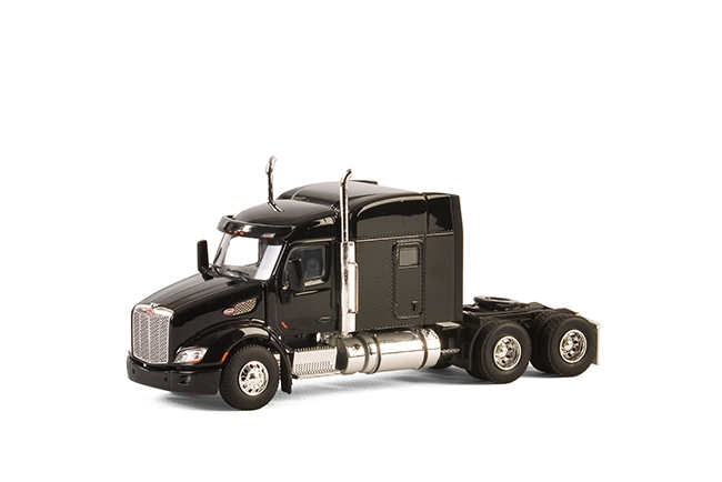 USA Basic Line PETERBILT 579 6x4 BLACK , Van WSI Models