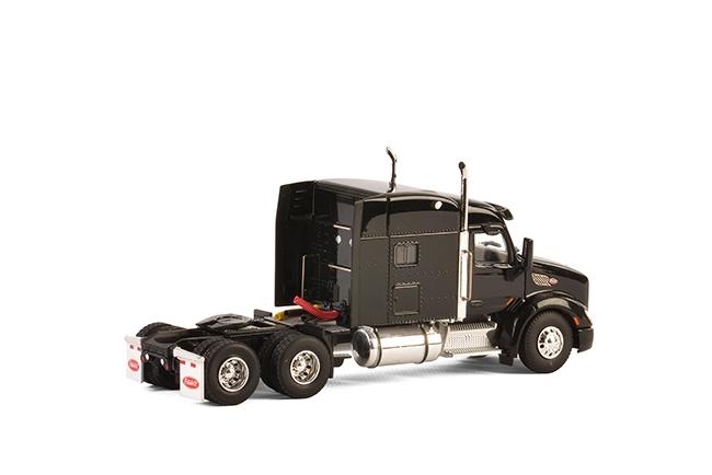 USA Basic Line PETERBILT 579 6×4 BLACK , Van WSI Models