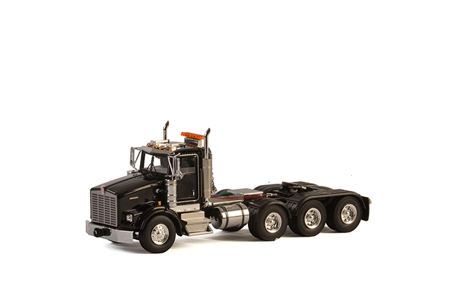 USA Basic Line KENWORTH T800 8X4 BLACK . Van WSI Models