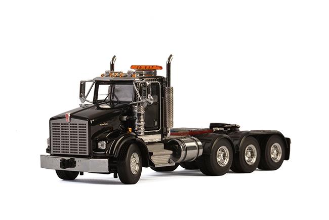 USA Basic Line KENWORTH T800 8X4 BLACK . Van WSI Models
