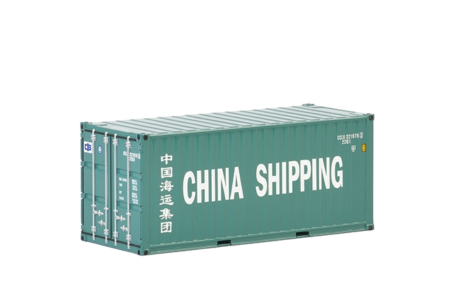 WSI Premium Line 20 FT Container , Van WSI Models