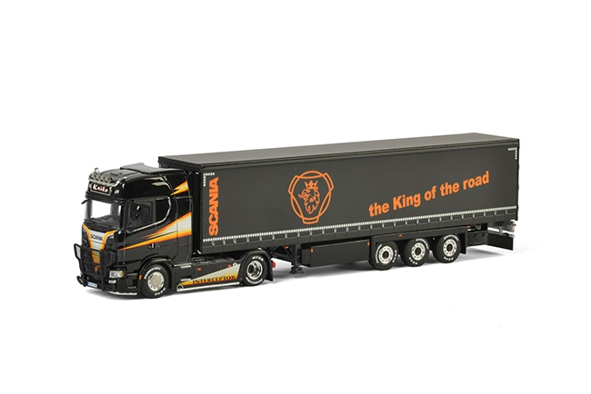 Kaiko Scania S Highline CS20H , Van WSI Models