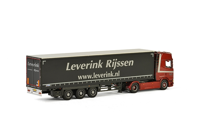 Leverink Scania S Highline CS20H 4×2 , Van WSI Models