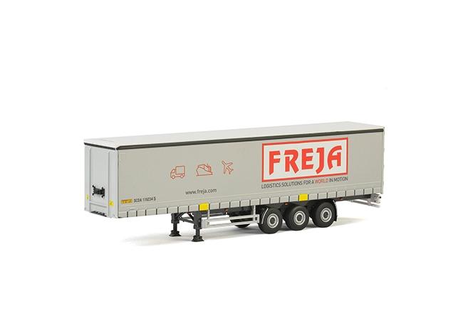 Premium Line Schuifzeilen Oplegger (3 as) , Van WSI Models