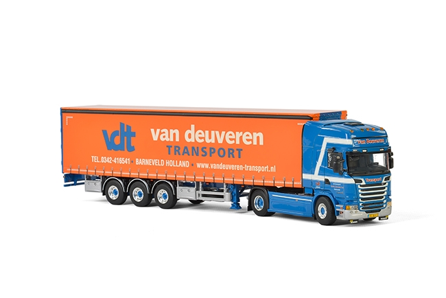 Van Deuveren Transport Scania Streamline Topline , Van WSI Models