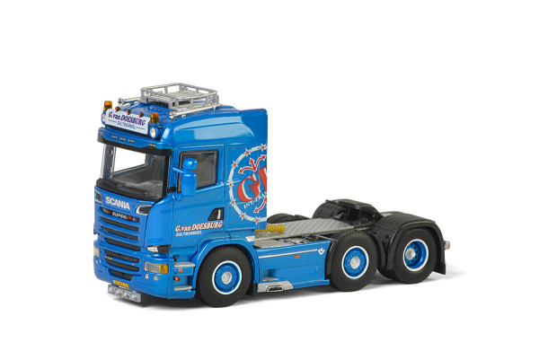G. van Doesburg SCANIA STREAMLINE HIGHLINE 6x2 TWIN STEER , Van WSI Models