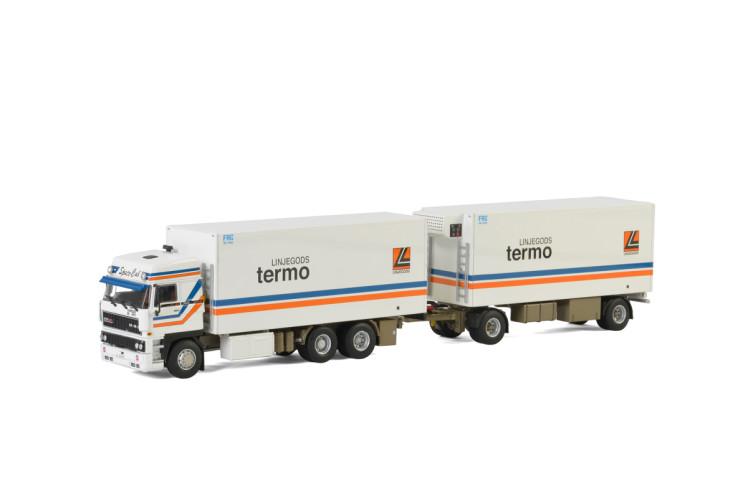 Linjegods DAF 3600 SPACE CAB , Van WSI Models
