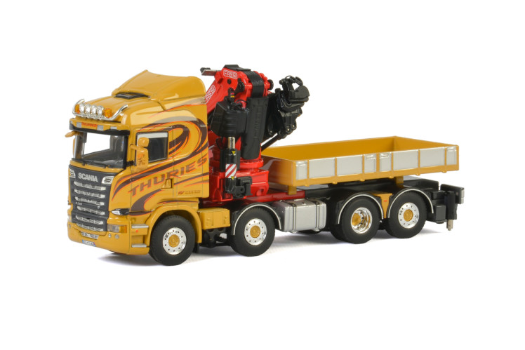 Thuries SCANIA STREAMLINE HIGHLINE 8x2 TAG AXLE , Van WSI Models