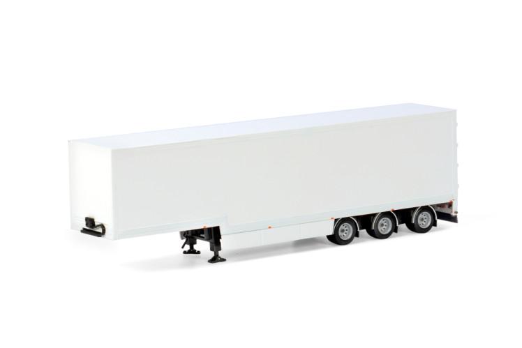 White Line SEMI BOX TRAILER - 3 AXLE , Van WSI Models
