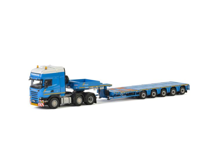 Felbermayr SCANIA STREAMLINE TOPLINE 6x2 TWIN STEER , Van WSI Models