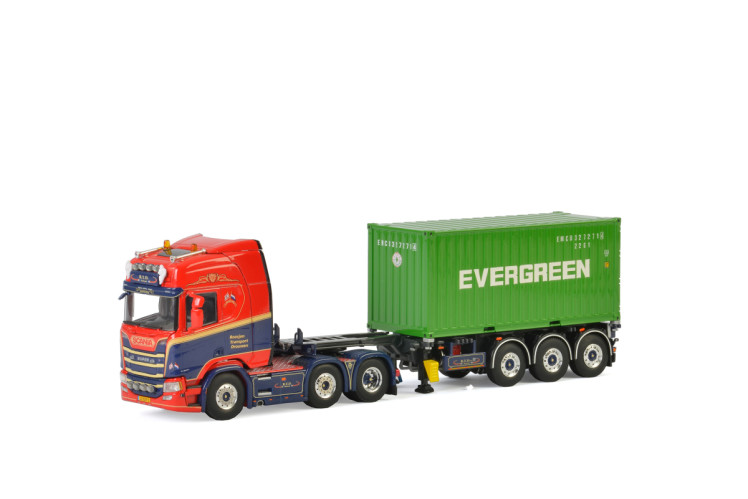 Geert Roosjen SCANIA R HIGHLINE CR20H 6x2 TWIN STEER , Van WSI Models