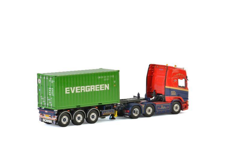 Geert Roosjen SCANIA R HIGHLINE CR20H 6×2 TWIN STEER , Van WSI Models