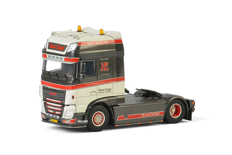 Klaas Engel DAF XF SUPER SPACE CAB 4x2 , Van WSI Models