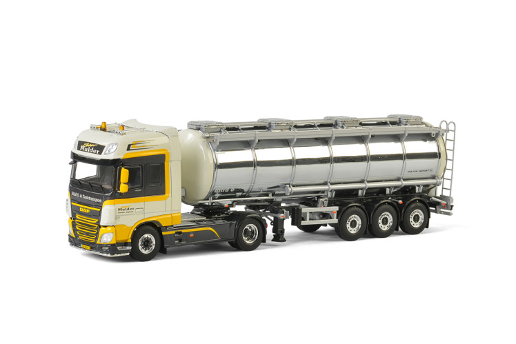 Peter Mulder DAF XF SUPER SPACE CAB 4x2 TANK TRAILER - 3 AXLE , Van WSI Models