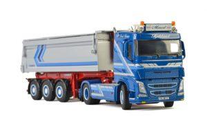 Augst Baustoffe VOLVO FH4 SLEEPER CAB 4×2 , Van WSI Models